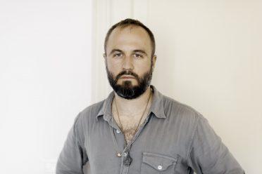 ITALY. Verona. 2015. The musician Miles Cooper Seaton.